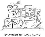 cartoon vector illustration of...   Shutterstock .eps vector #691376749