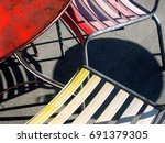 Red Table  Yellow Chairs  And...
