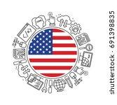 internet technology and...   Shutterstock .eps vector #691398835