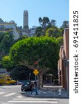 san francisco  september 2014   ... | Shutterstock . vector #691411825