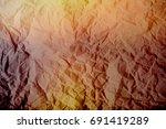 yellow  orange  brown  burnt...   Shutterstock . vector #691419289