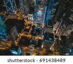 june 20  2017  central  hong... | Shutterstock . vector #691438489