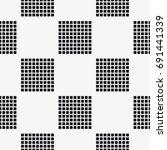 vector seamless pattern. modern ... | Shutterstock .eps vector #691441339