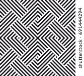 vector seamless pattern.... | Shutterstock .eps vector #691444294