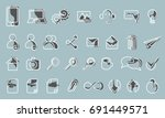 vector icons web and mobile....