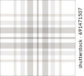 plaid check pattern in pastel... | Shutterstock .eps vector #691471507