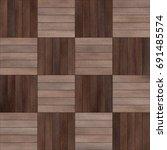 seamless wood parquet texture ... | Shutterstock . vector #691485574