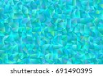 light blue vector abstract... | Shutterstock .eps vector #691490395