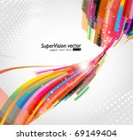 abstract background vector | Shutterstock .eps vector #69149404