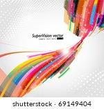 abstract background vector | Shutterstock .eps vector #69149404