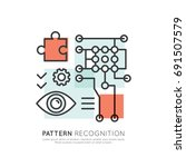 vector icon style illustration... | Shutterstock .eps vector #691507579