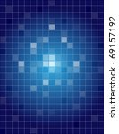 blue abstract background with... | Shutterstock .eps vector #69157192