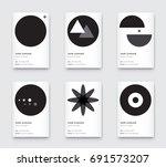 raster minimal propaedeutics... | Shutterstock . vector #691573207