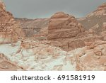 warm colors background. white... | Shutterstock . vector #691581919