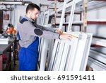 positive adult production... | Shutterstock . vector #691591411