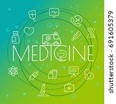 medicine concept. different...