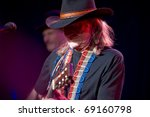 Постер, плакат: Country music legend Willie