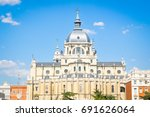 architectural view of the... | Shutterstock . vector #691626064