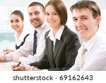 young and successful...   Shutterstock . vector #69162643