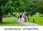 singapore   dec 14  2015.... | Shutterstock . vector #691647301