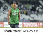 Small photo of Rio, Brazil - may 18, 2017: Alexis Henri­quez Charales player in match between Botafogo (BRA) and Nacional (URU) by the Libertadores championship in Nilton Santos Stadium