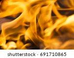 Fire. Blaze Fire Flame Texture...