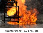 Fire Fighting - stock photo