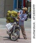 saigon  vietnam   june 28  2017 ... | Shutterstock . vector #691800499