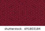 abstract seamless pattern with... | Shutterstock .eps vector #691803184