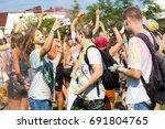 odessa  ukraine   august 5 ... | Shutterstock . vector #691804765