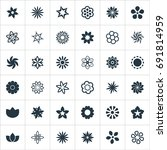 vector illustration set of... | Shutterstock .eps vector #691814959