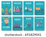 president abraham lincoln day... | Shutterstock .eps vector #691829041
