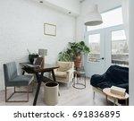 living room | Shutterstock . vector #691836895