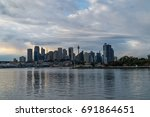 generic modern cityscape with... | Shutterstock . vector #691864651