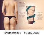 design of web banner with anti... | Shutterstock .eps vector #691872001