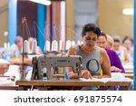 cuba  havana   may 5  2017 ... | Shutterstock . vector #691875574
