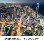 gold coast  australia   july 11 ... | Shutterstock . vector #691903294