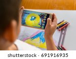zhongshan china august 8  2017... | Shutterstock . vector #691916935