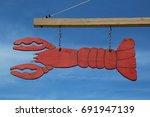 bar harbor  maine   july 3 ... | Shutterstock . vector #691947139