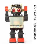 Vintage Retro Robot.