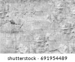 abstract halftone texture.... | Shutterstock . vector #691954489