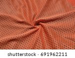 texture of sportswear made of... | Shutterstock . vector #691962211