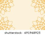template business card for... | Shutterstock .eps vector #691968925