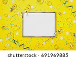 party  carnival or birthday... | Shutterstock . vector #691969885