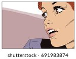 stock illustration. people in... | Shutterstock . vector #691983874
