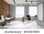 wooden diamond pattern and... | Shutterstock . vector #692007805
