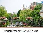 amsterdam  holland  europe  ...   Shutterstock . vector #692015905