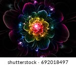 Abstract Fractal Luxurious ...