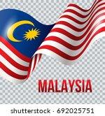 vector illustration of malaysia ... | Shutterstock .eps vector #692025751
