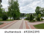 belarus. the grodno region. mir ... | Shutterstock . vector #692042395